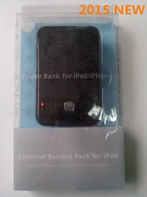 5000 mah battery solar charger for retailers supply by low MOQ and paypal accepted