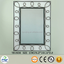 Large Novelty Decorative Metal Wall Mirror