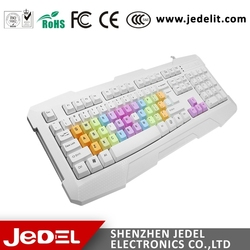 Promotion beautiful medical keyboard made in China