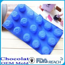 MFG Various shape silicone chocolate molds halloween pumpkin