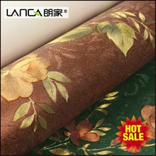 Lanca decorative wallpaper fiber glass for yard