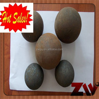 Used in cement plant forged steel ball dia 20-150mm
