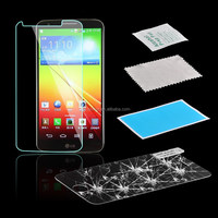 Clear Anti-scratch Screen Protector Tempered Glass For LG G2