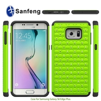 New Arrival With Diamond Full Protective Bling Case For Samsung S6 Edge Plus