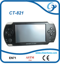 4.3 inch CPT screen puzzle game console , with camera mp4 mp5