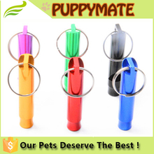 wholesale low price mental dog whistle / pet products / many colours for choose