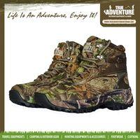 True Adventure TA2-006 Outdoor Waterproof Camouflage Men & WomenMountain Climbing Boots Hunting Hiking Women Camouflage Shoes