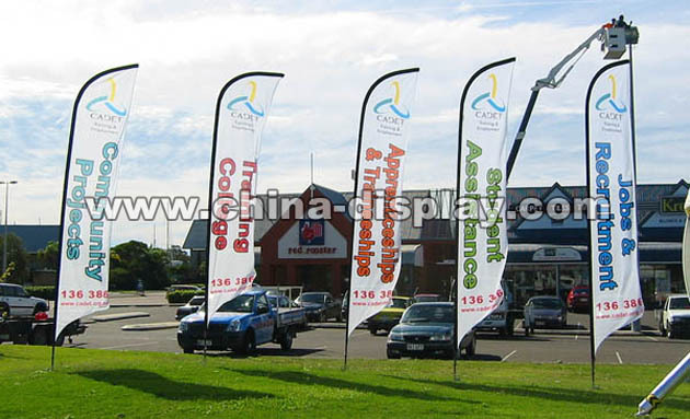 Outdoor teardrop banner, teardrop flag, beach flag