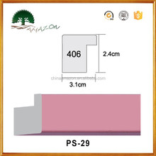 newest style polystyrene PS photo picture frame/ PS construction decoration moulding frame