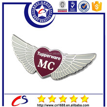 Custom Metal Pilot Wing Badge