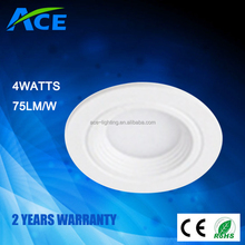 2015 Top Quality High Lumen CE ROHS smd led downlight 4W