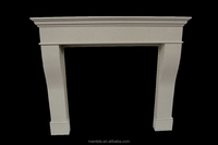 IVORY PEARL MICRO MARBLE FIREPLACES