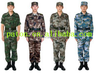 Wholesale camouflage clothing uniform BDU for army military customize