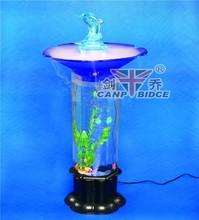 Plexiglass aquarium supply cooling mist bubble tubes with tropical fish species