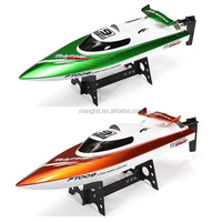 Free shipping Remote control boats Feilun FT009 Upgraded 2.4G remote control toys 4CH Water Cooling High Speed RC Boat