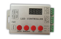 Programmable SD Card led pixel controller;2048pixels;support dmx console(select the programmes);WS2811/2812/WS2801/TM1804/WS2821