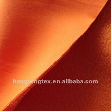 4 way spandex bonded polyester polar fleece fabric