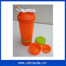 Sports Blender Shake Cup with Blender Ball with Protein Container