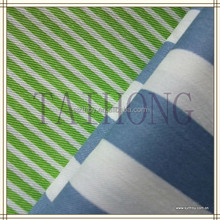 made in China navy blue and white stripe fabric