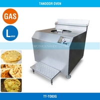 Gas Ovens for Sale Tandoor - Large Size, 200 MM/One Burner, S/S, 1150*1150*1000 MM, TT-TO03G