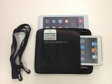 "Newest 3 in 1 Fantastic 10.1"" neoprene laptop sleeve with removable shoulder strap"