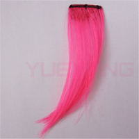 Stripe Streak Synthetic Hair Clip in Bang Fringe Hair Extension
