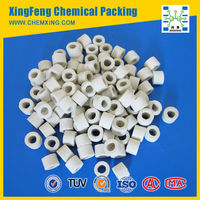 1/4 inch (6mm) Ceramic Raschig Ring, Acid & Heat Resistance