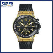 Mechanical , self-winding wrist watch for men movement made in Japan