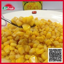 cooking canned corn canned sweet corn with factory price