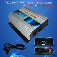 Grid Tie Solar Micro Inverter 600W Inverter Price110V/120V/220V/230V/240V DC 22-60V Input