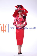 2015 New Styles Ladies Dress Office Wear /Church Suits / Work dresses For Black Woman
