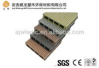 Popular style composite plastic wood wpc garden path flooring