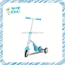 Child age factory kids 3 wheels scooter stand up electric scooter