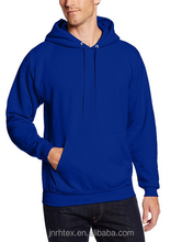 China manufacturer plain hooded mens cropped 100 cotton sweatshirts wholesale