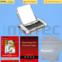 Top quality A4 size double-side high glossy cast coated inkjet photo paper