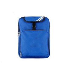 School bags, made from polyester, blue, used in school, travel, business
