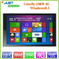 Colorfly I108W 4G tablets pc 10.1 inch IPS Retina Win8.1 Quad Core 2GB 32GB tablet pc