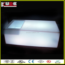 LED furniture new products LED outdoor furniture LED glowing cube table