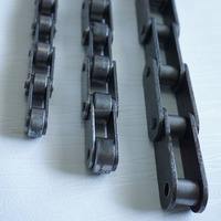 Double pitch transmission chain