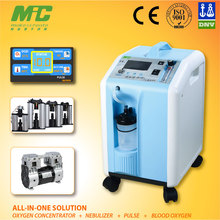 57. MIC electric home 10 liter prices of oxygen generator for dog home care with purity alarm, nebulizer