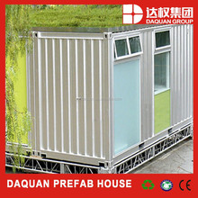 Promotion! DAQUAN ready made youth hotel house/used cargo container prices/prefabricated container shops