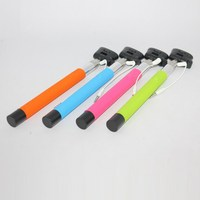 Extendable New Hot Sale Telescopic Selfie Jack Wireless Bluetooth Remote Selfie Handheld Monopod Stick Phone for iPhone Android