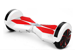 Hot selling 8inch two wheels self balancing scooter parts with bluetooth and LED factory wholesale price