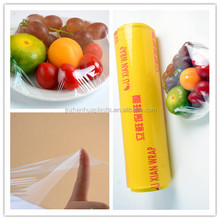 plastic products food preservatives food film for plastic wrap fruits cover pvc cling film