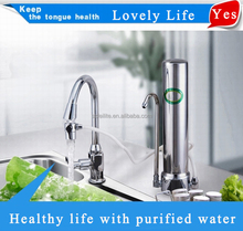Light weight quality home non-electric counter top simple Mineral uf Water Purifier