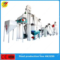Turn key fish feed pellet production line with high quality