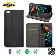 High Quality Fase Shipping Wallet Leather Mobile Phone Case For Micromax Canvas Sliver 5