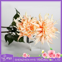 High quality PU Dahlia artificial dahlia flower fake dahlia wholesale