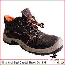 Works men steel toe cap safty shoes made in China top quality safty shoes work shoes