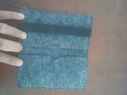 paper shopping bag making machine/felt wash bag/felt bag with bow decoration